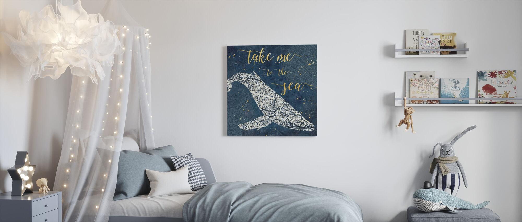 Take Me to the Sea - Canvas print - Kids Room