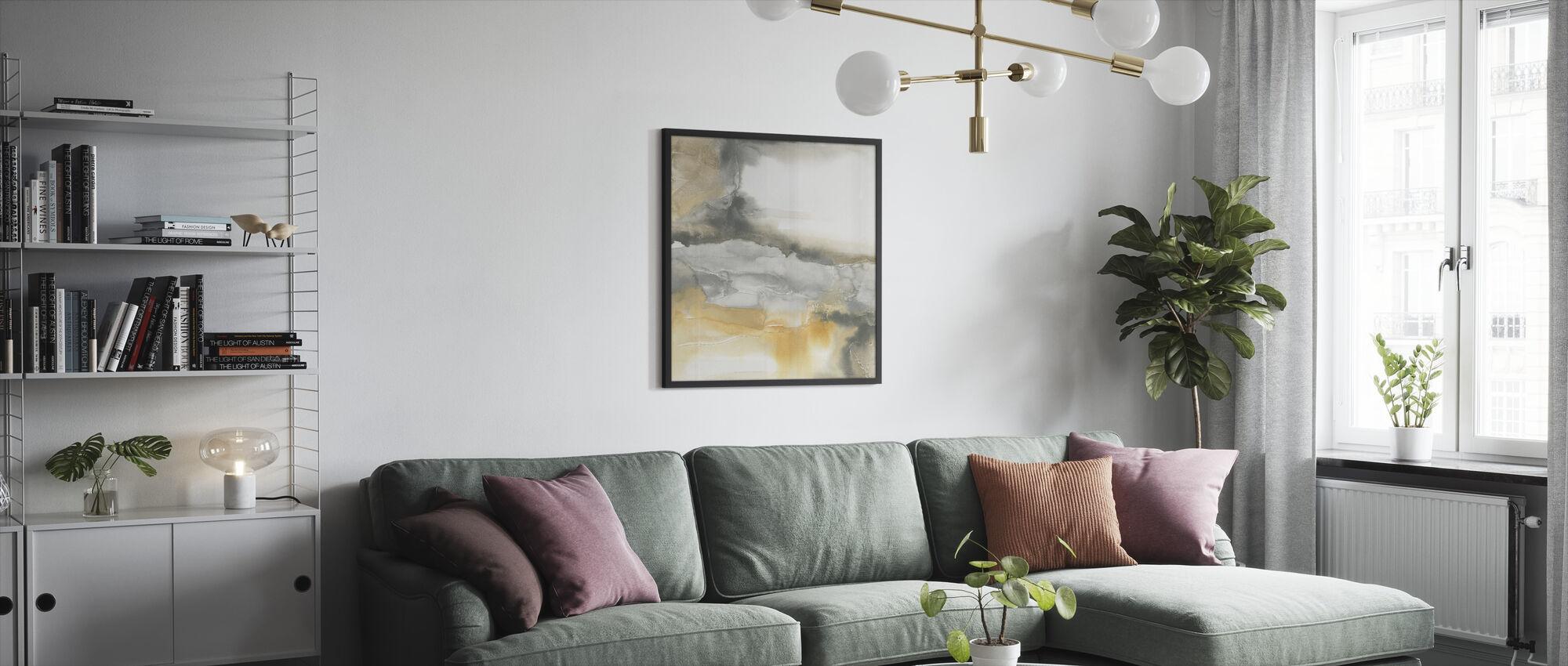 Watercolor Minerals I - Framed print - Living Room