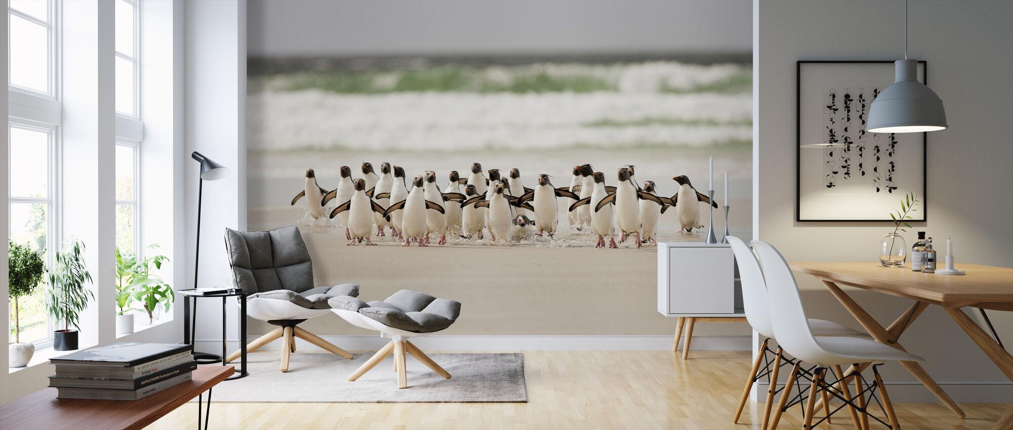 Landing - Wallpaper - Living Room