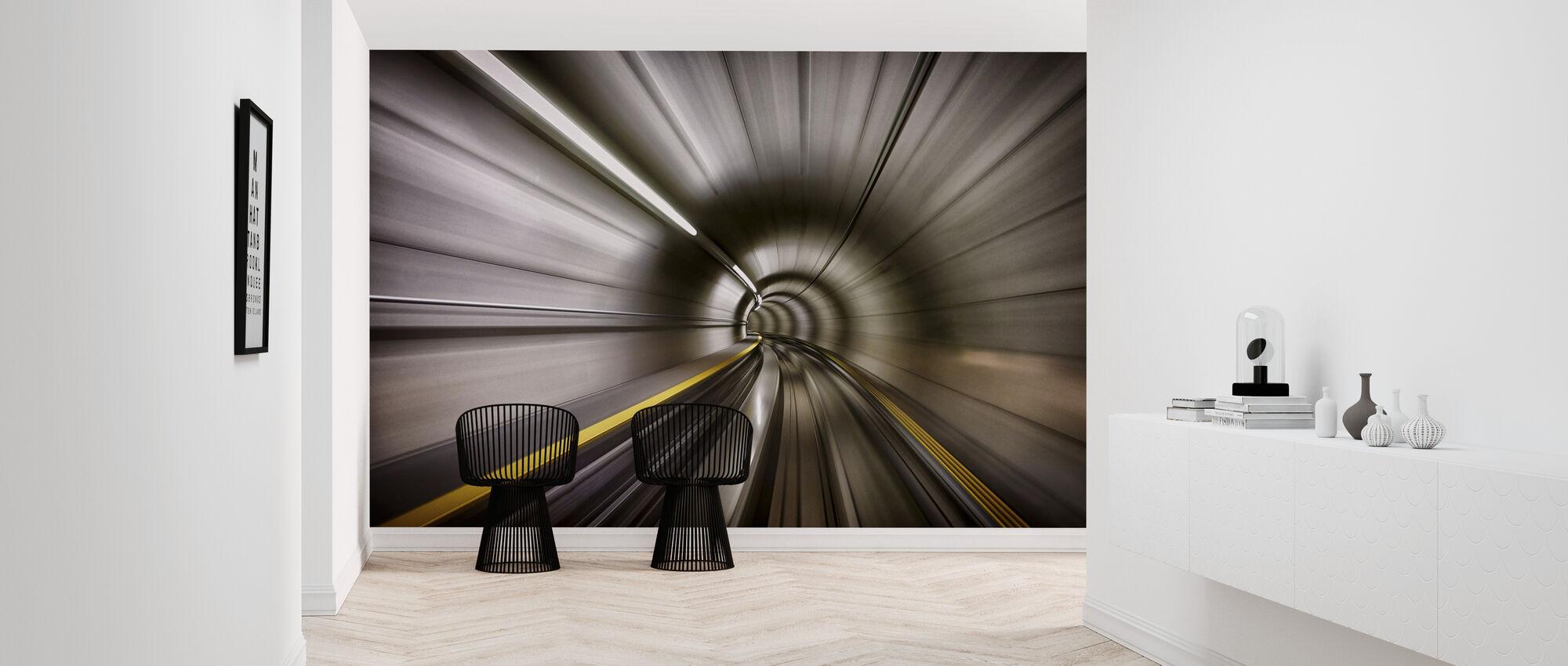 Tunnel - Tapet - Gang