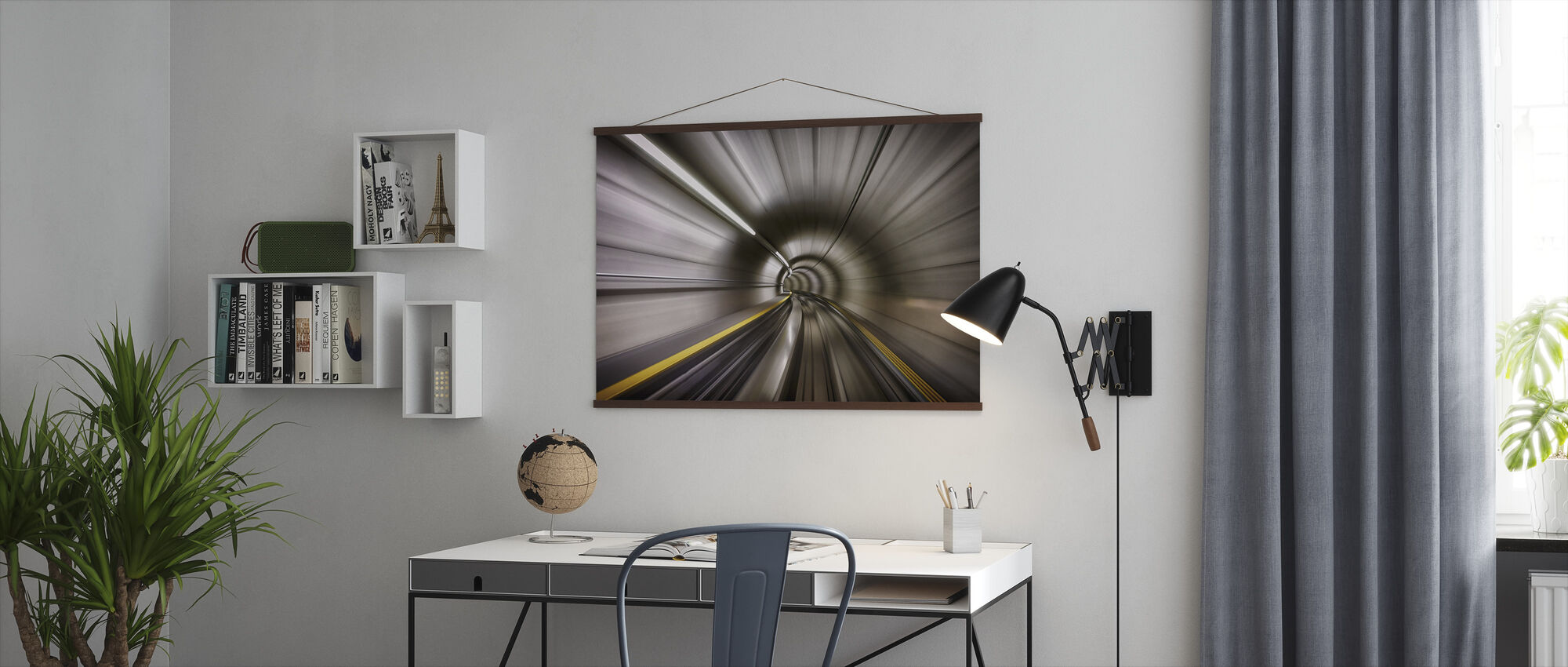 Tunnel - Poster - Office