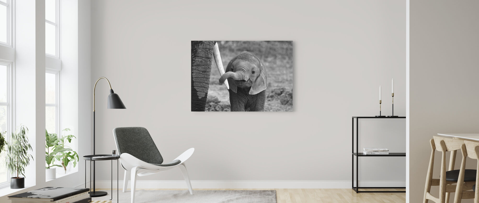 Close - Canvas print - Living Room