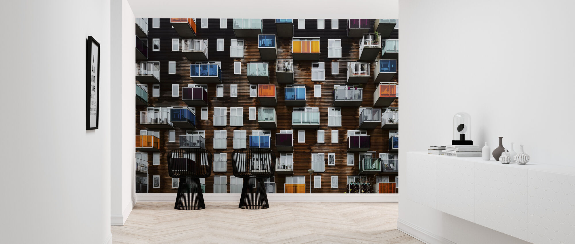 Balconia - Wallpaper - Hallway