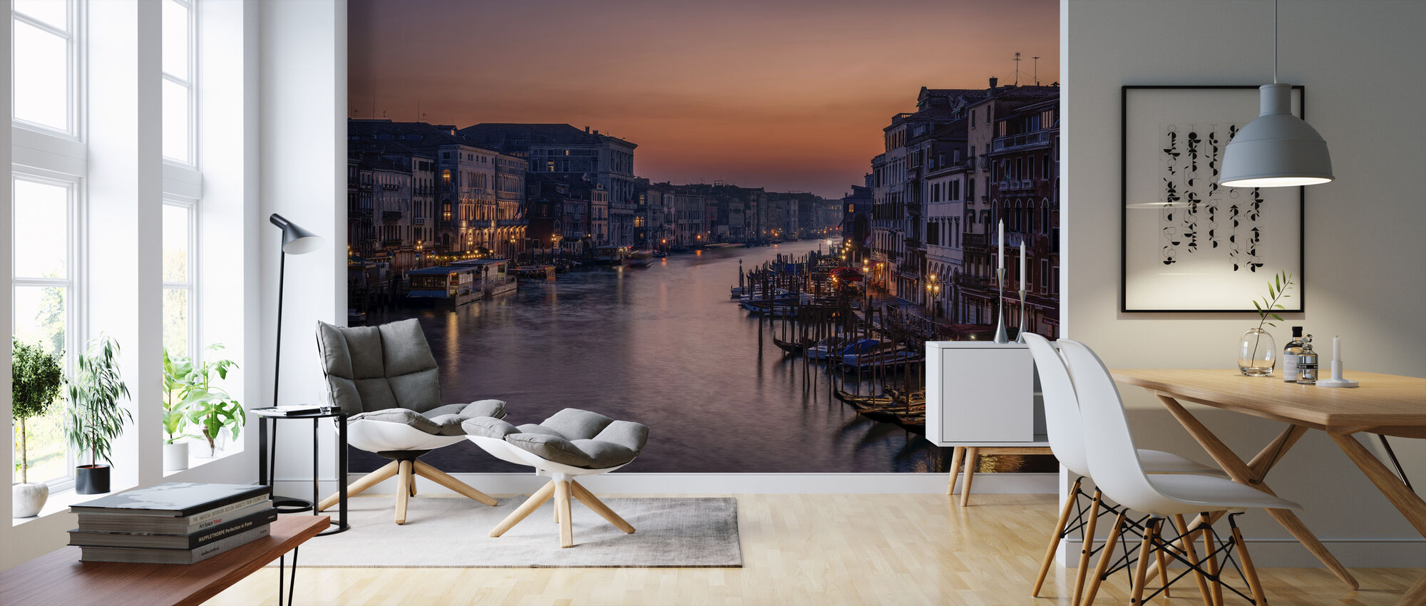 Venice Grand Canal at Sunset - Wallpaper - Living Room