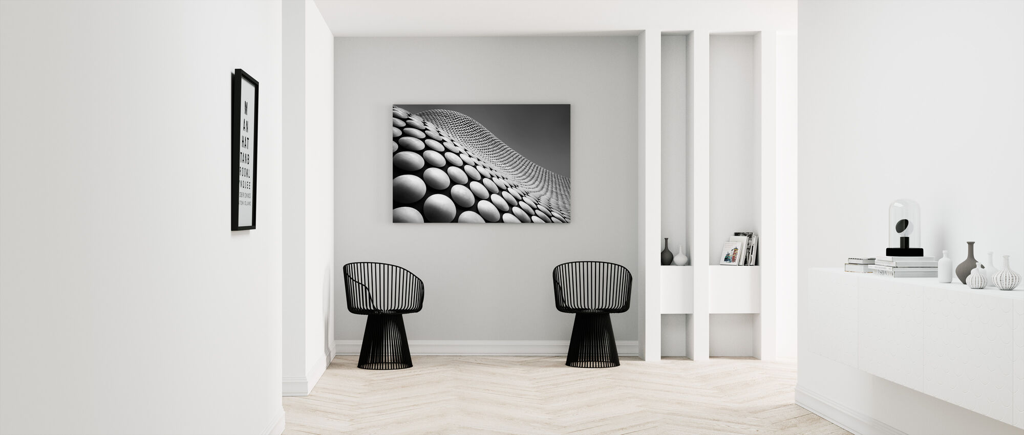 Curve - Canvas print - Hallway