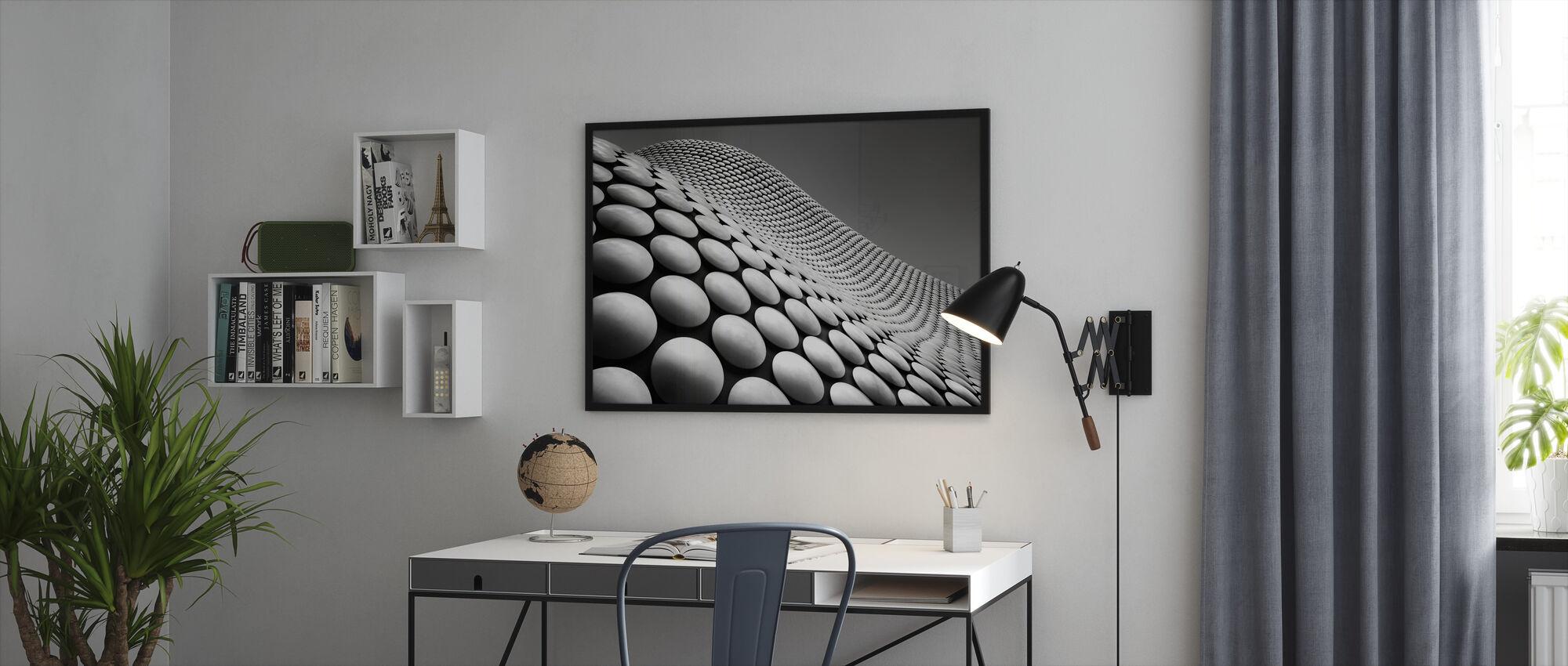 Curve - Framed print - Office