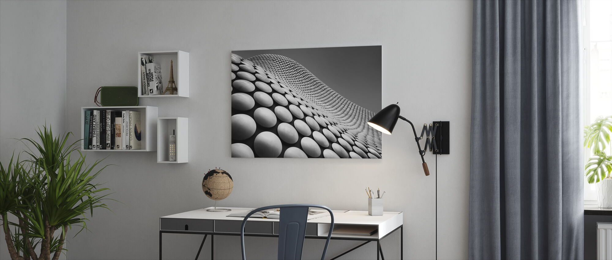 Curve - Canvas print - Office