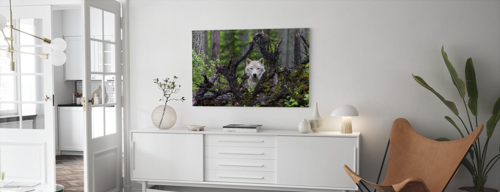 Wolf - Leinwandbild - Wohnzimmer