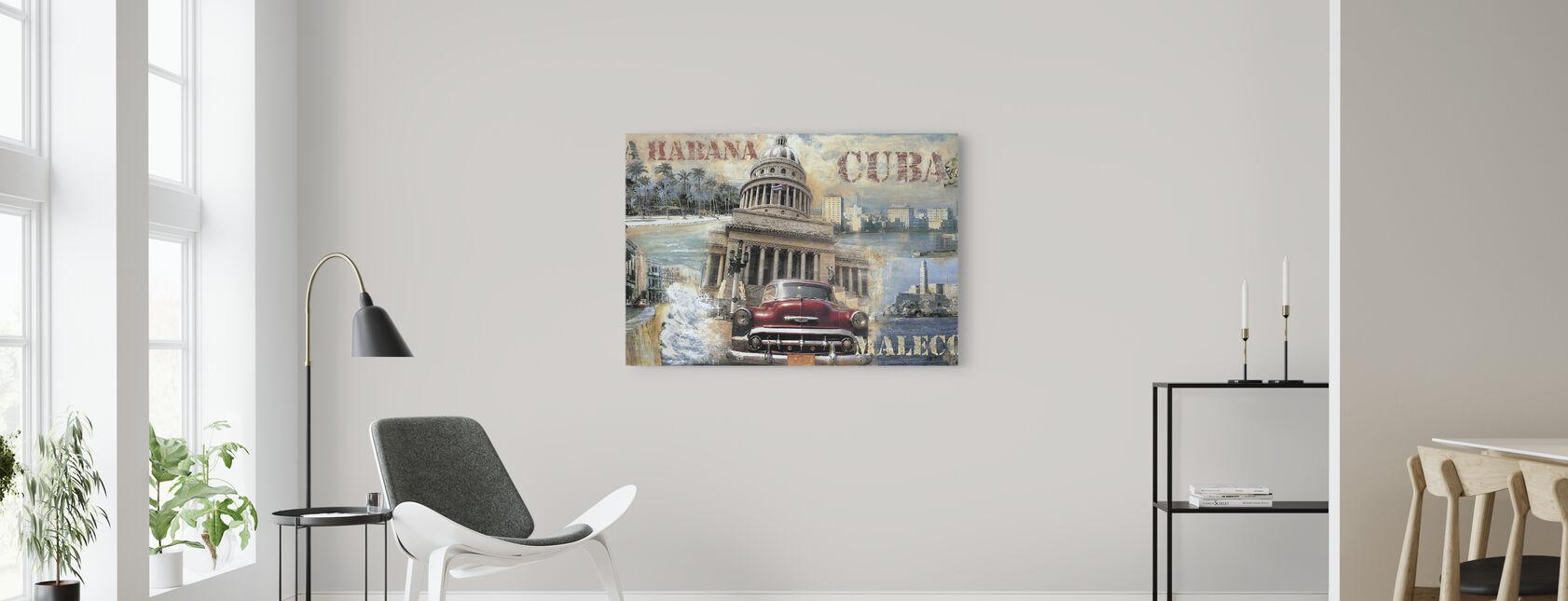 Cuba - Leinwandbild - Wohnzimmer