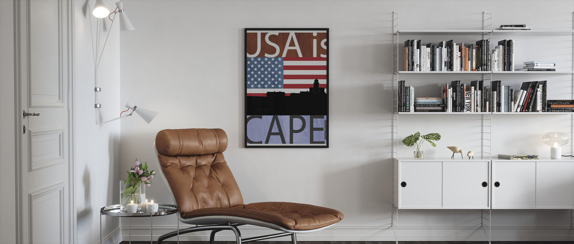 Cape Cod Art - Framed print - Living Room