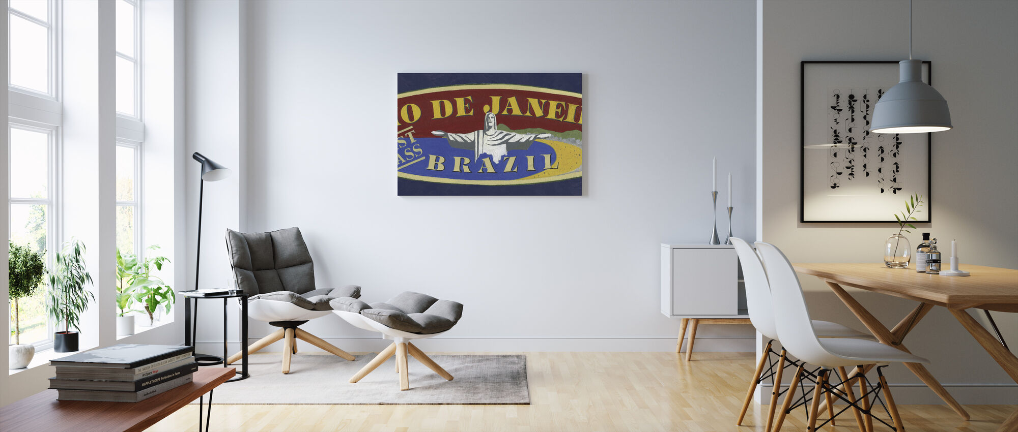 Travel Brazil - Canvas print - Living Room