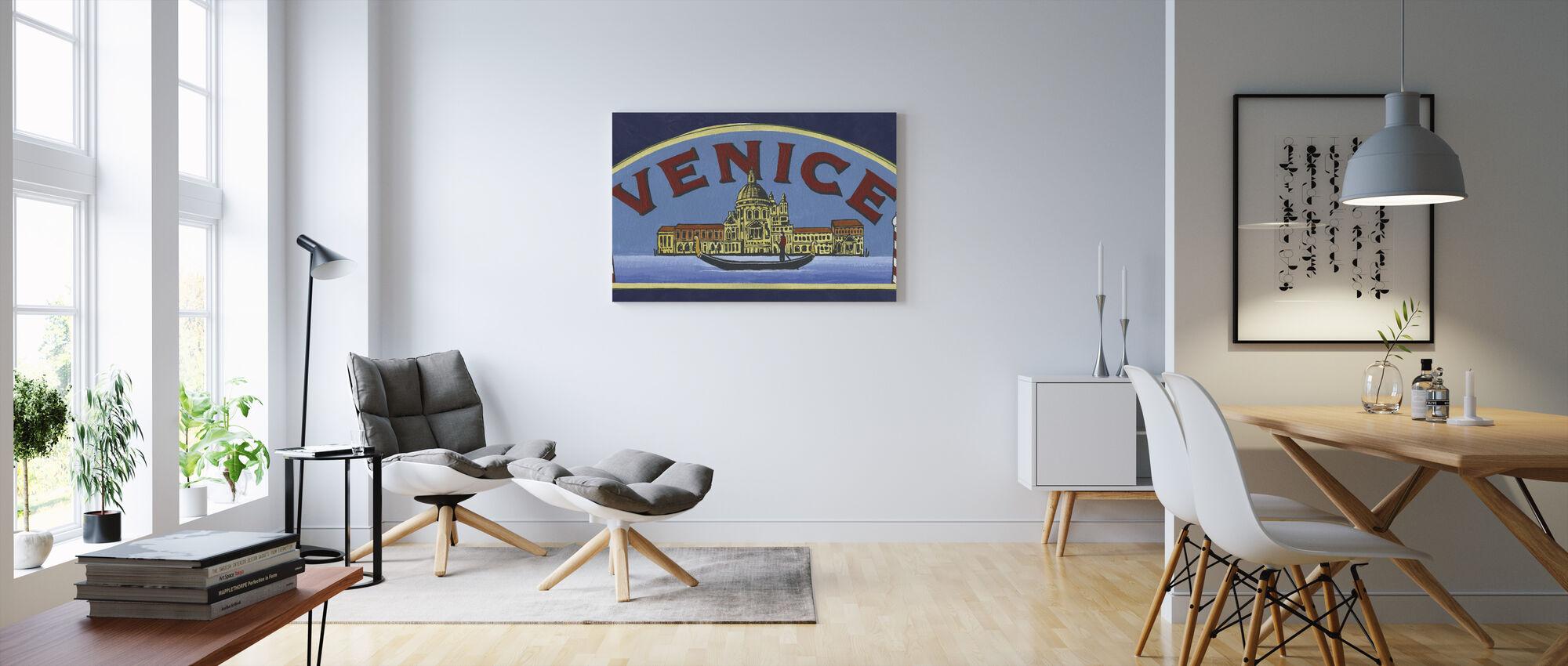 Travel Venice - Canvas print - Living Room