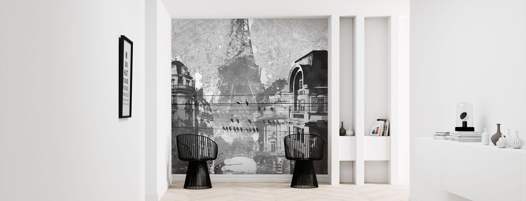 Fåglar av Paris - Tapet - Hall