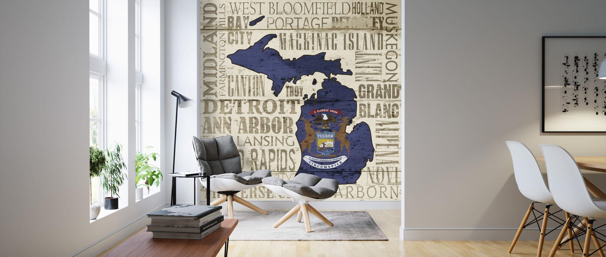 Michiganin osavaltio - Tapetti - Olohuone