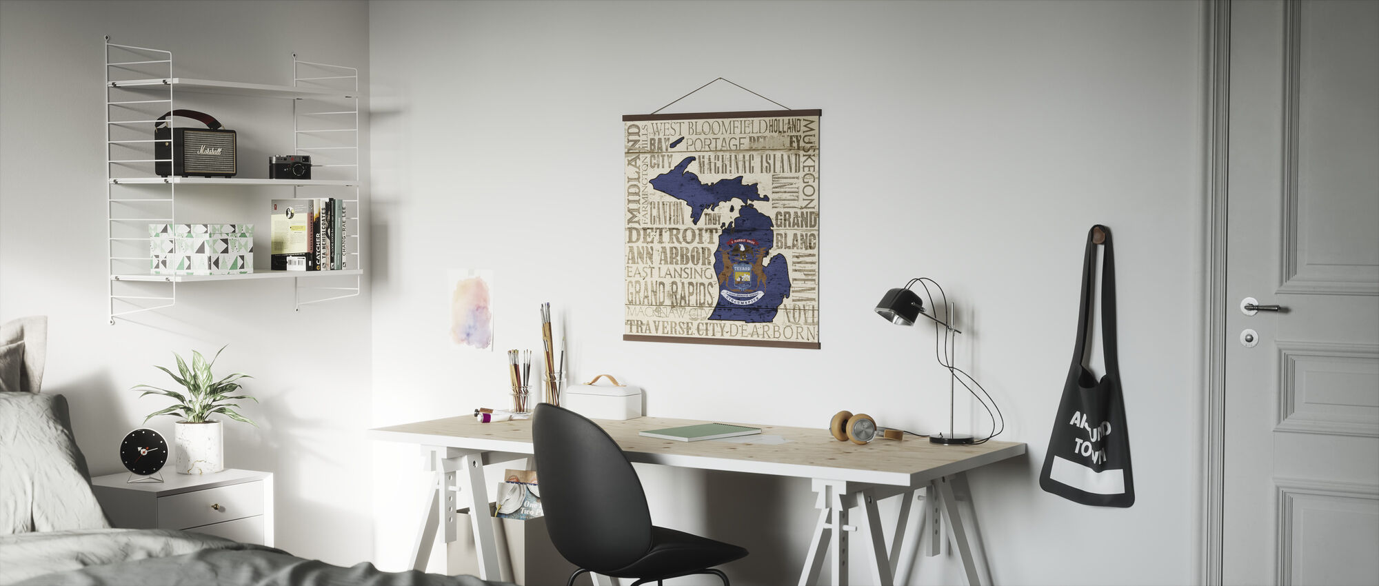 Michigan State - Poster - Office