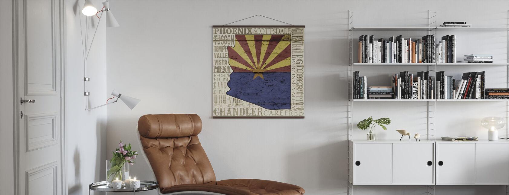Arizona (delstat) - Plakat - Stue