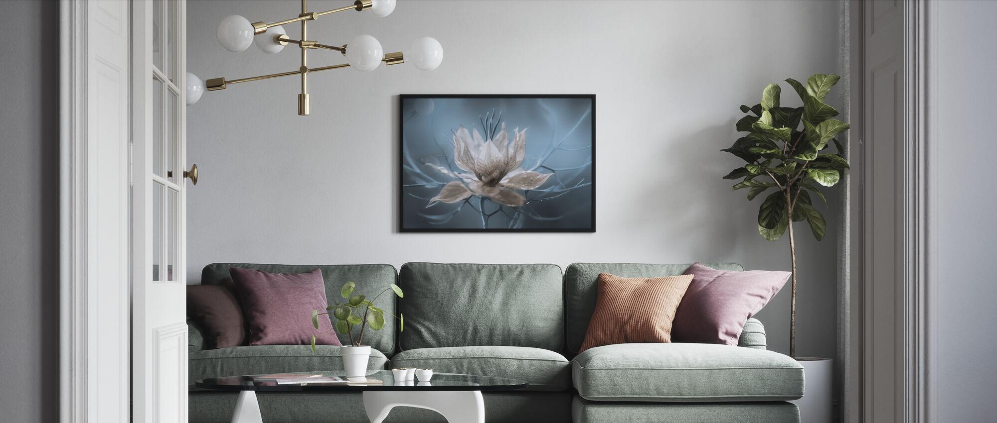 Nigella - Framed print - Living Room
