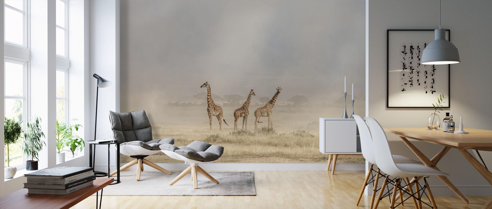 Weathering the Amboseli Dust Devils - Wallpaper - Living Room