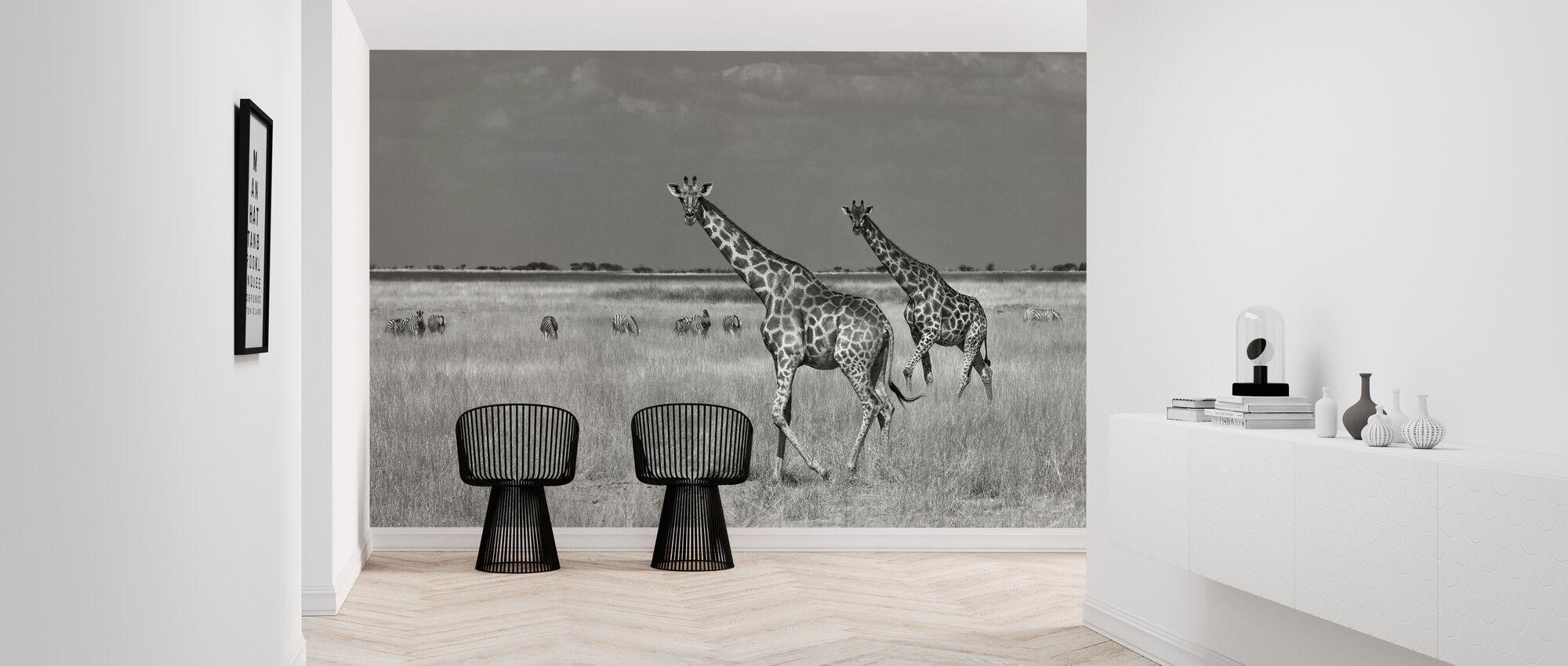 Tourists - Wallpaper - Hallway