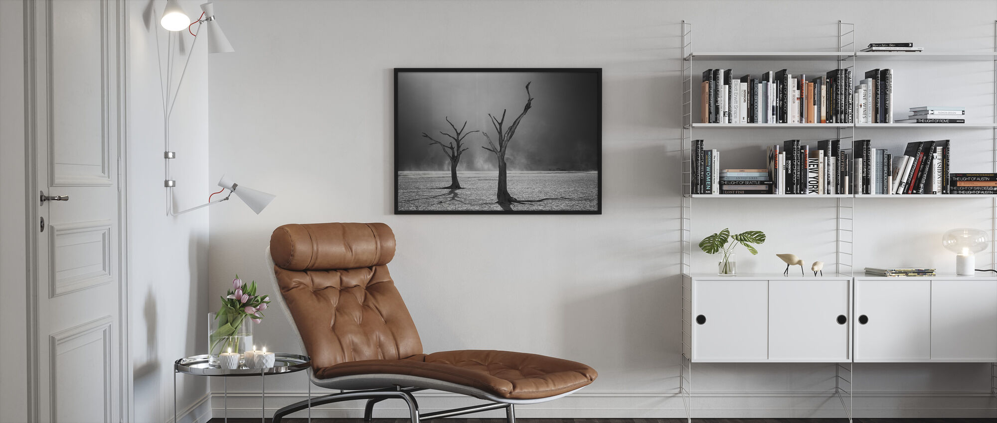 Afterlife - Framed print - Living Room