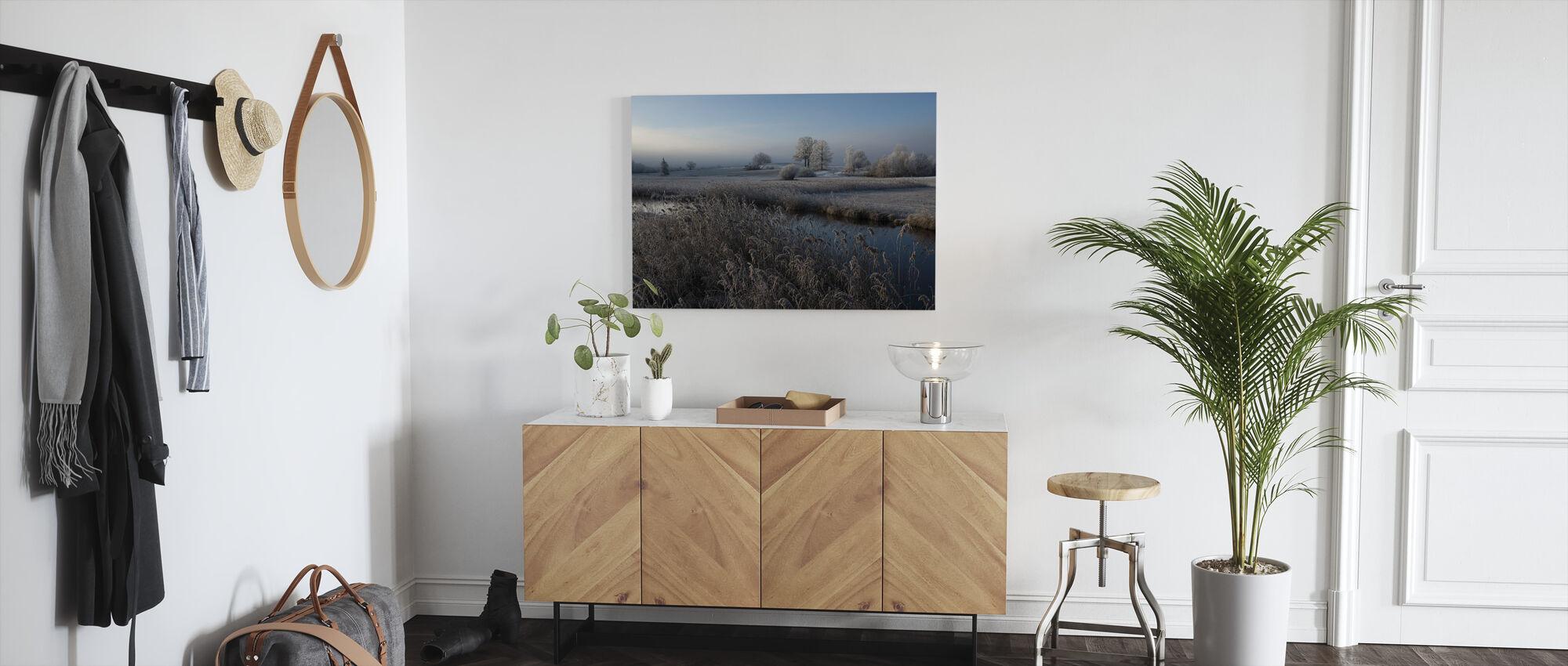 Cold - Canvas print - Hallway