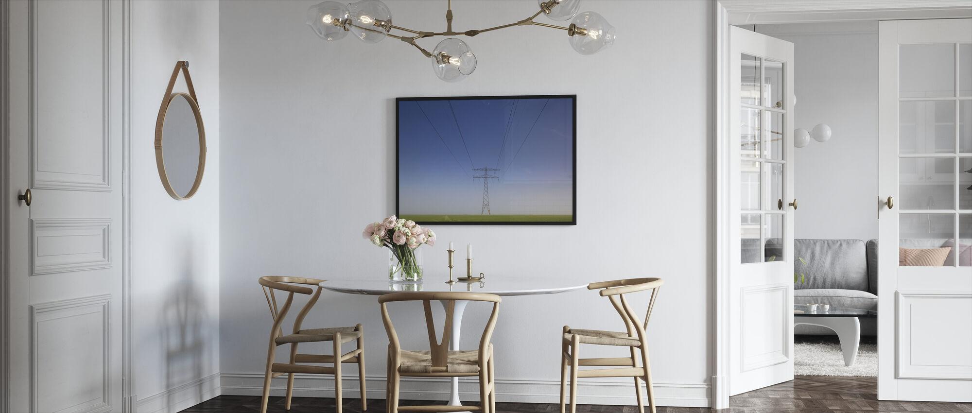 Less is More - Framed print - Kitchen