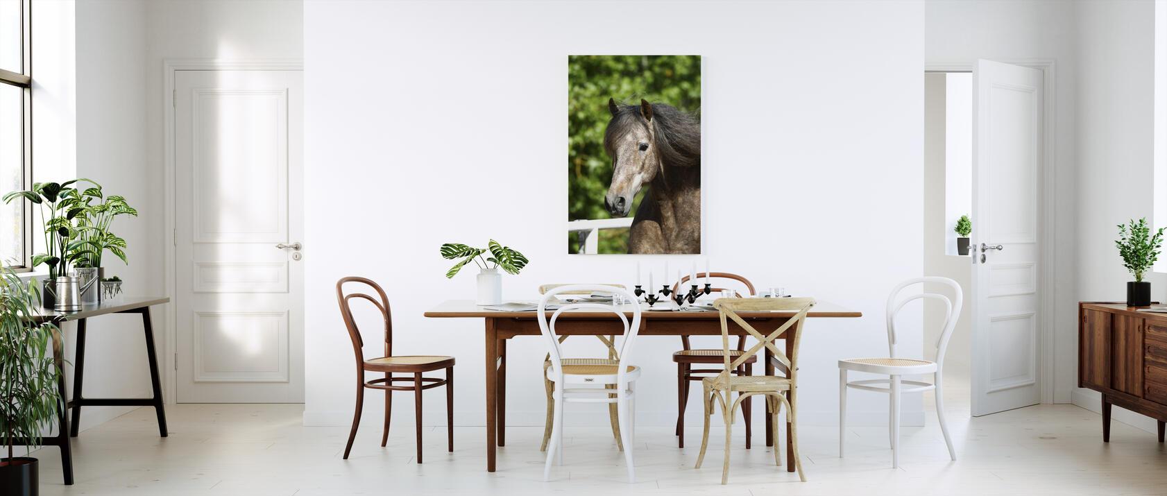 andalusian green leaves tableau de designer imprim sur toile photowall. Black Bedroom Furniture Sets. Home Design Ideas
