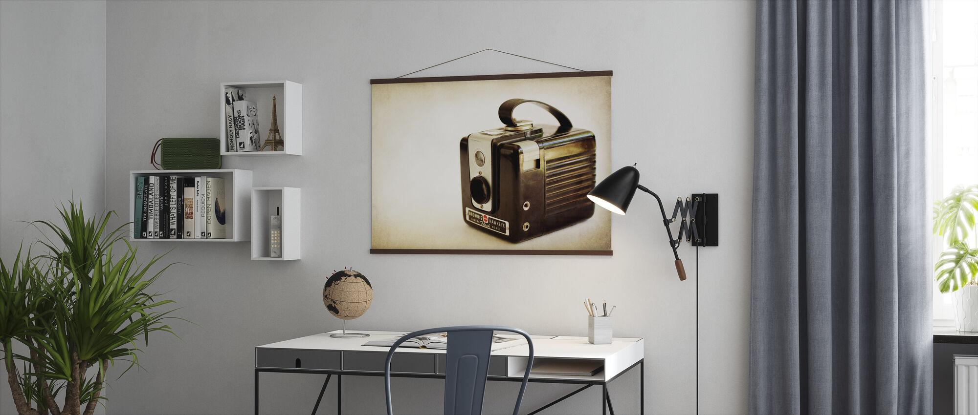 Kodak Brownie Hawkeye - Poster - Kontor