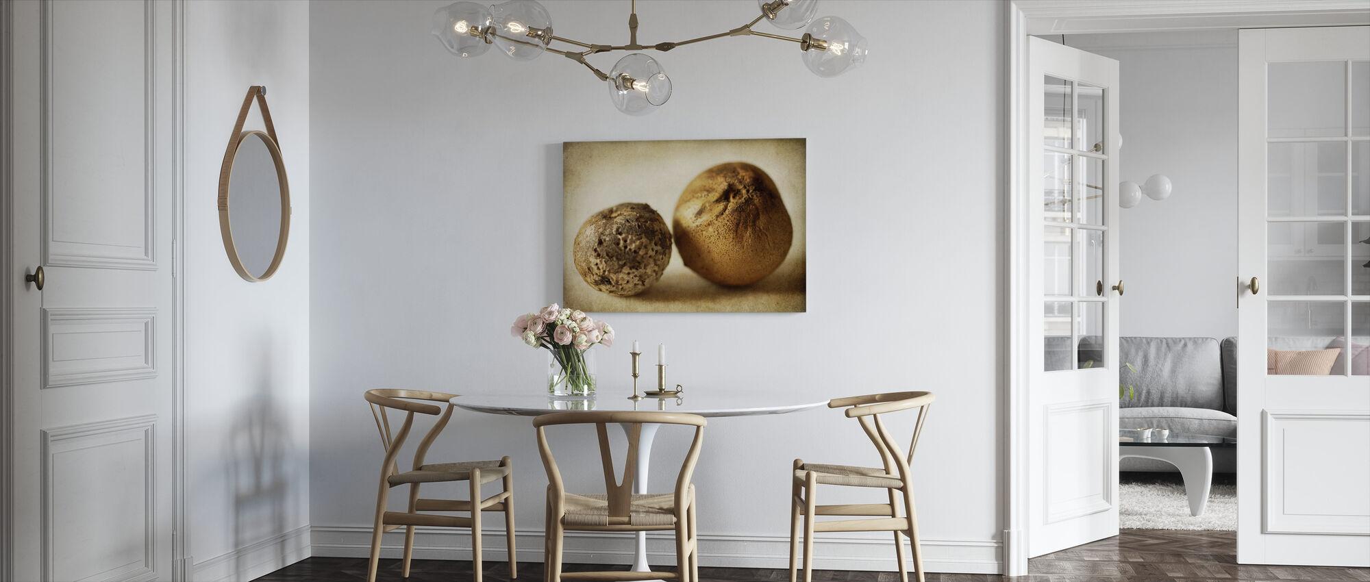 Two Oak Pods - Canvas print - Kitchen