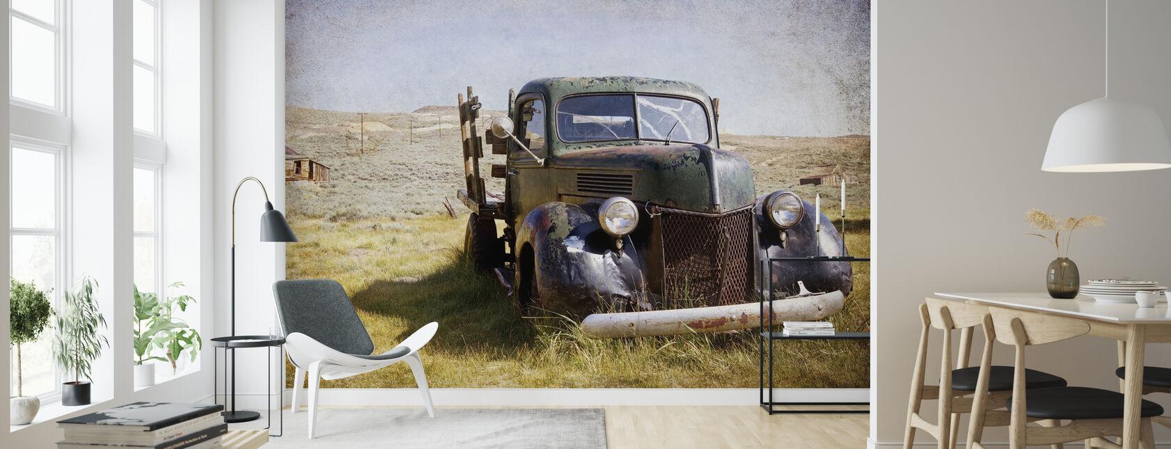 Vintage Ford - Tapet - Stue
