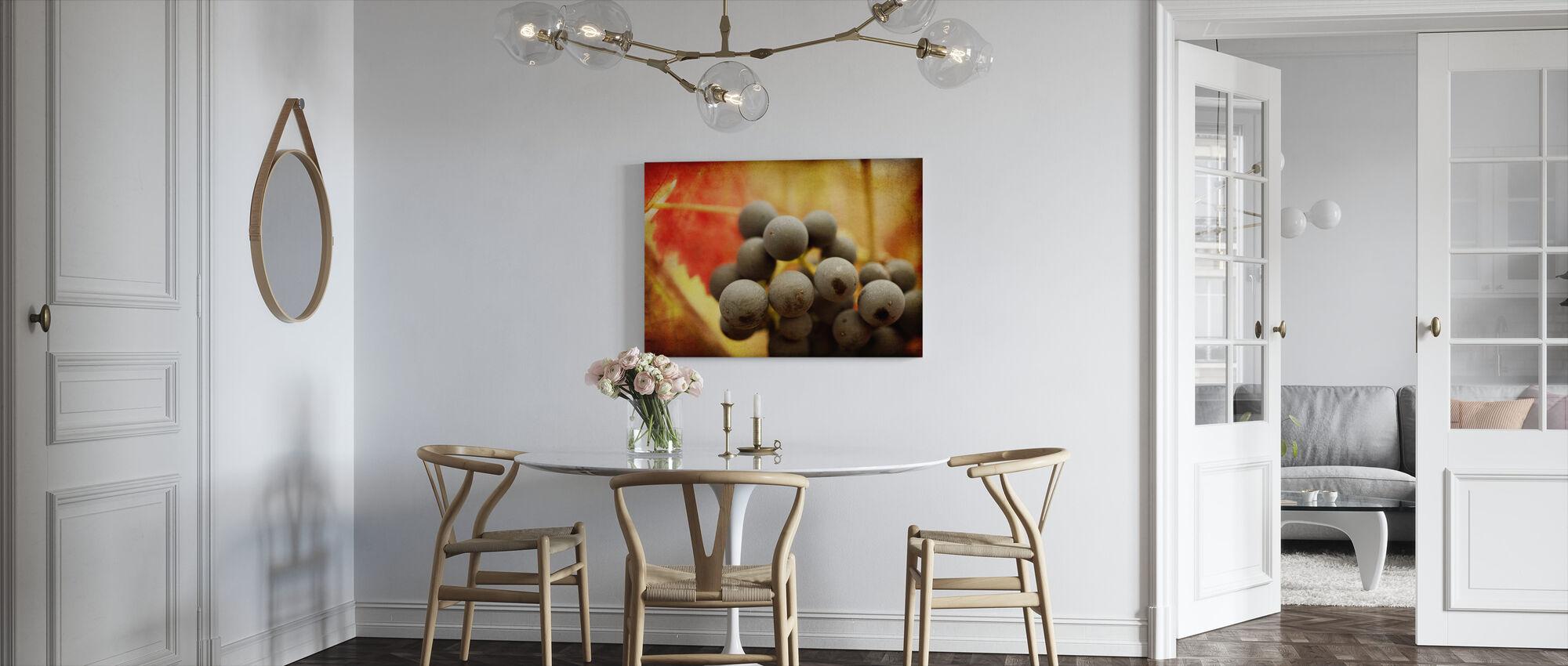 Autumn Harvest - Canvas print - Kitchen
