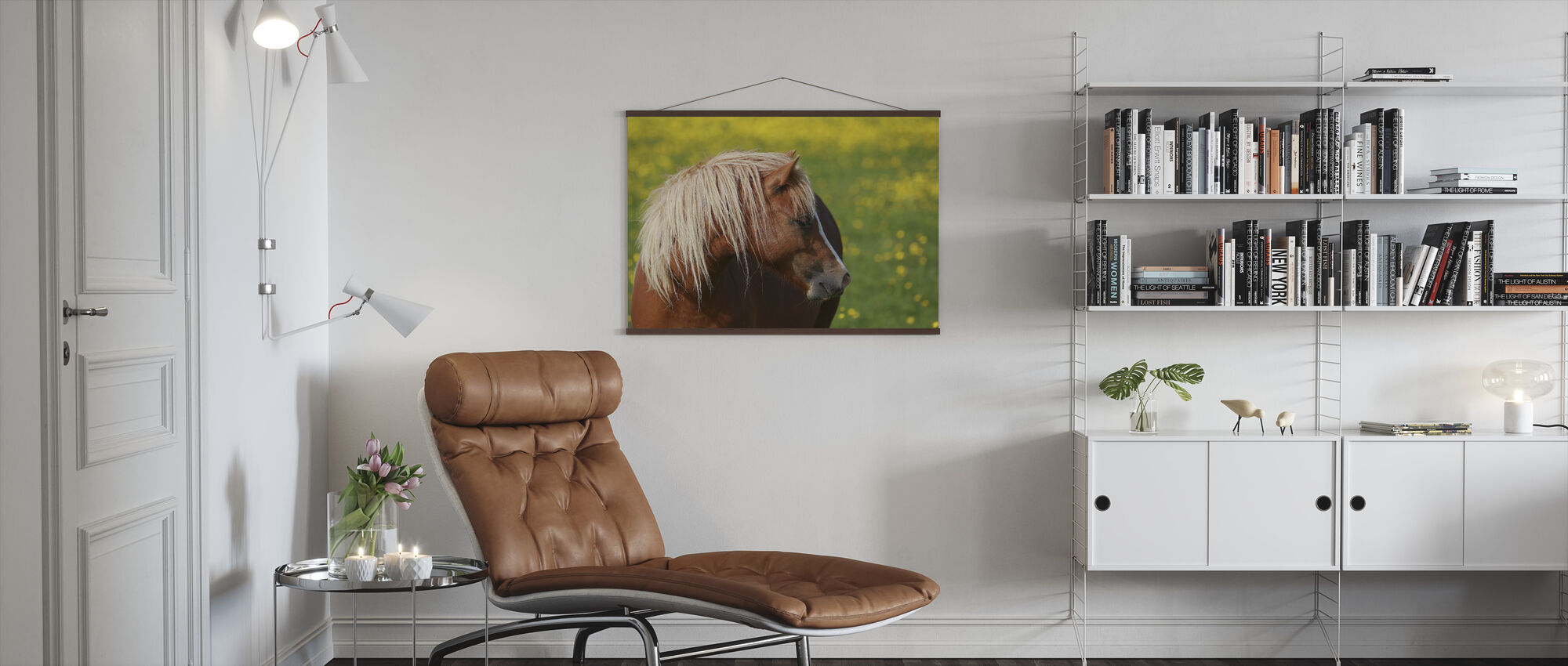 Horse Profile - Poster - Living Room