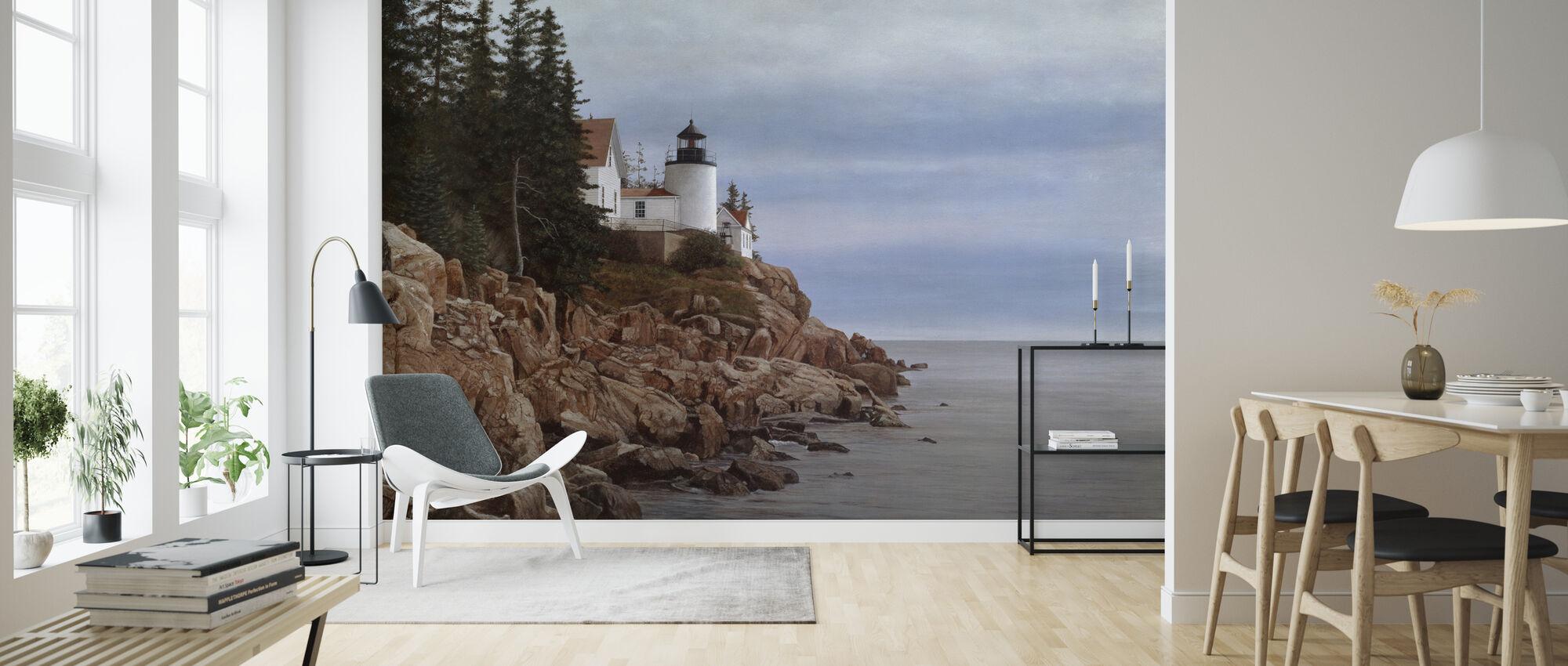 Bass Harbor Light - Wallpaper - Living Room