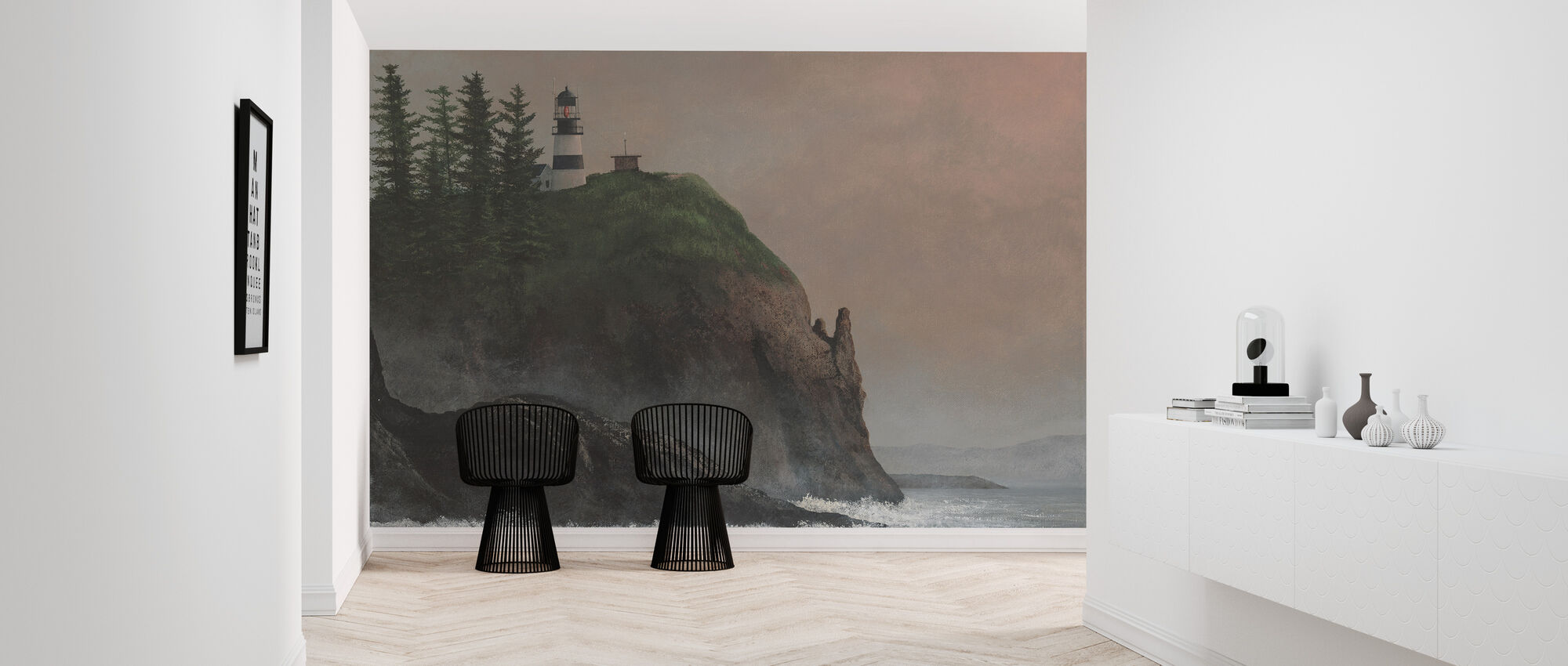 Cape Disappointment Light - Wallpaper - Hallway