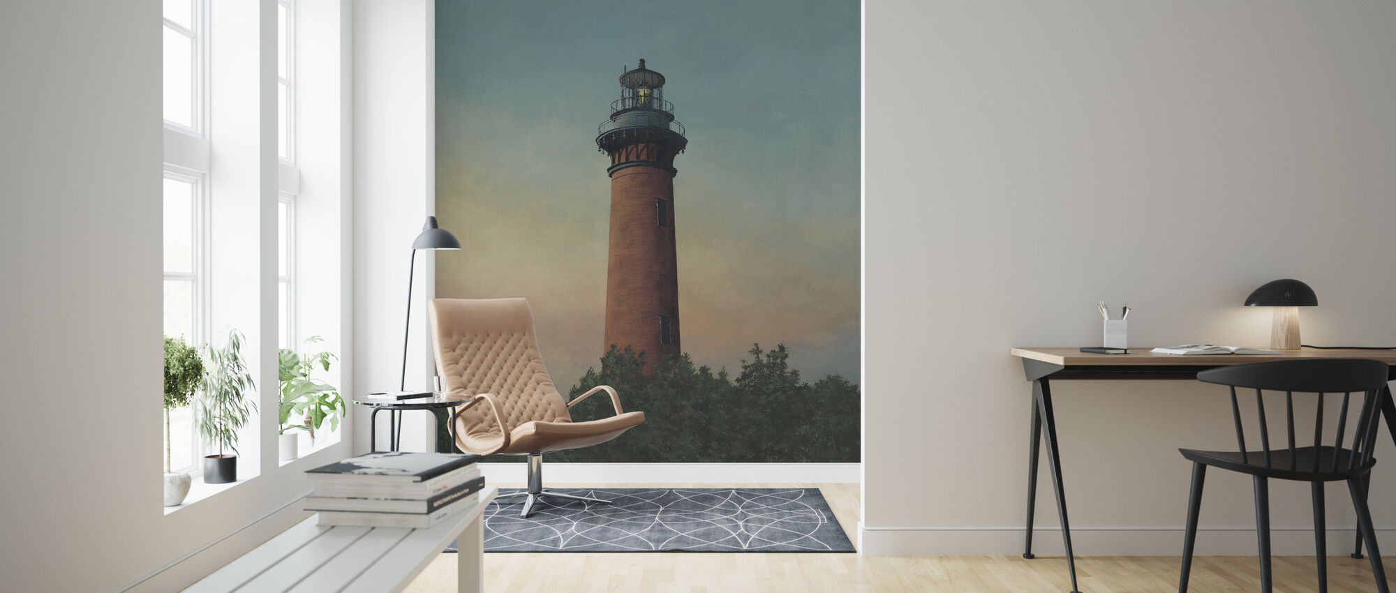 Currituck Beach Lighthouse - Wallpaper - Living Room
