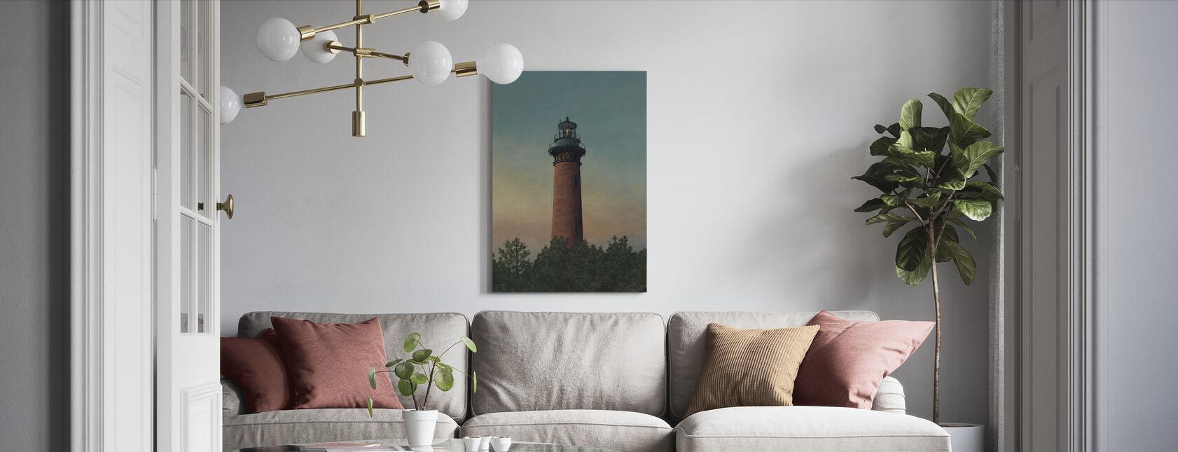 Currituck Beach Lighthouse - Canvas print - Living Room