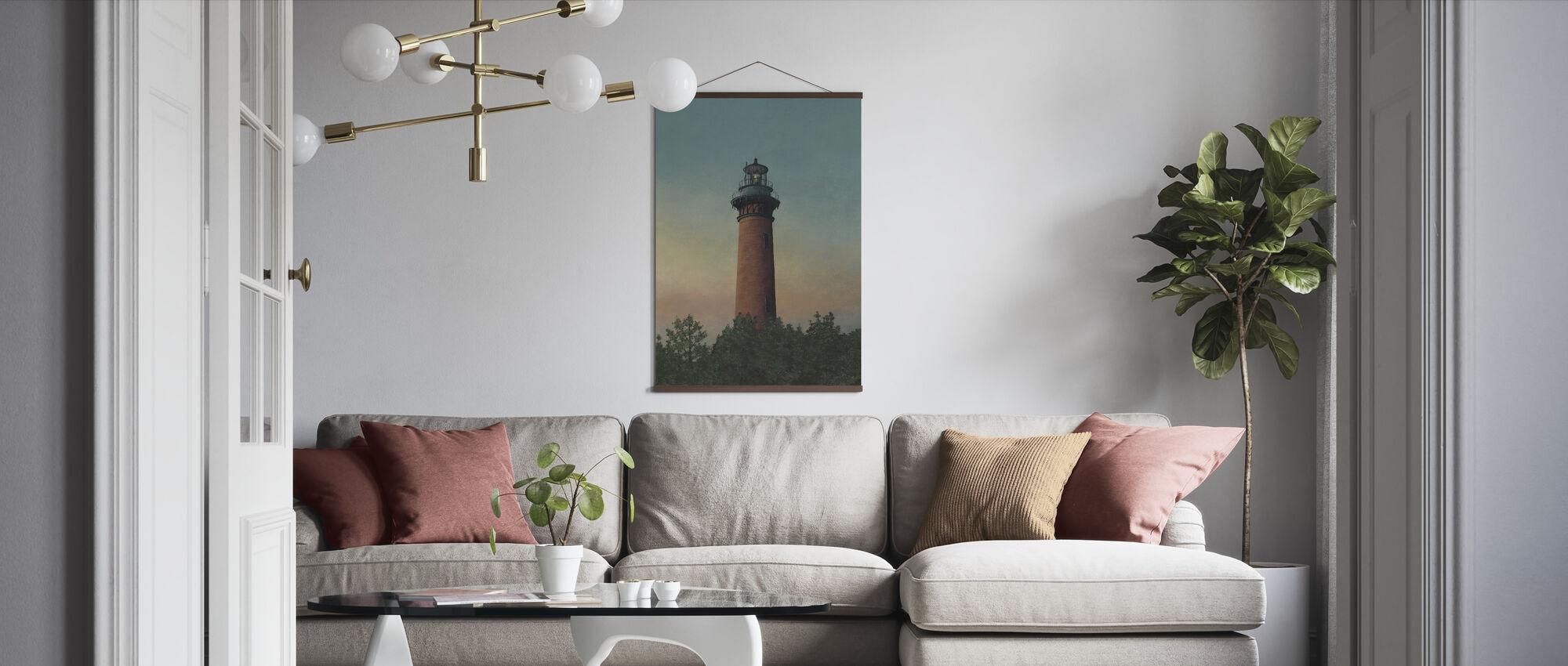 Currituck Beach Lighthouse - Poster - Living Room