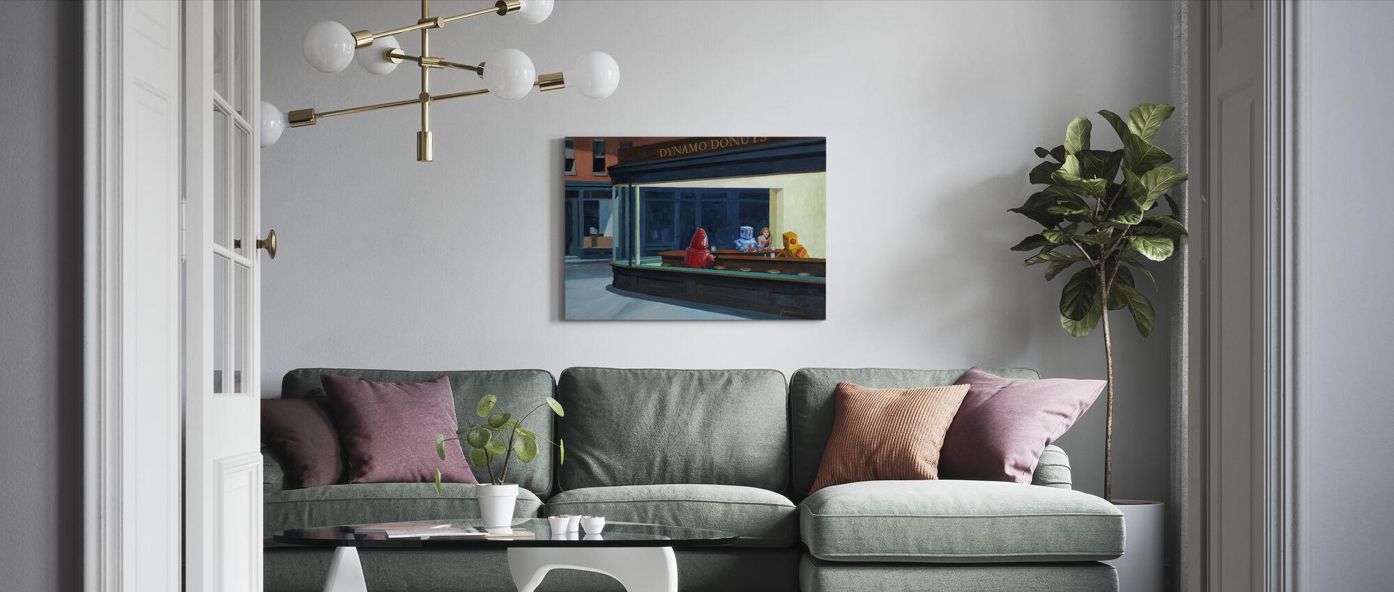 Robo Falken - Leinwandbild - Wohnzimmer