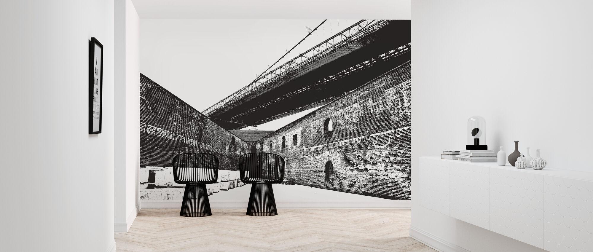 Structure - Wallpaper - Hallway