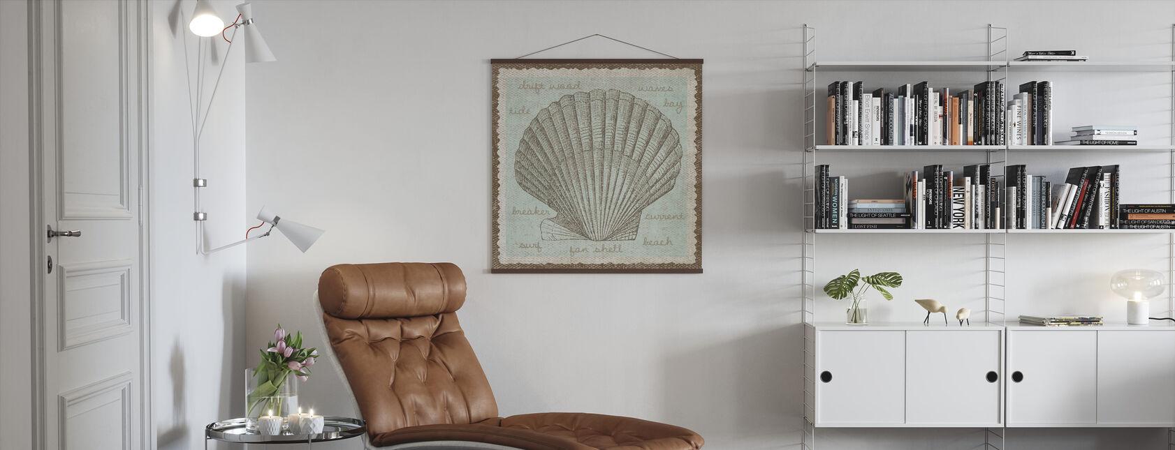 Shell Art - Poster - Living Room