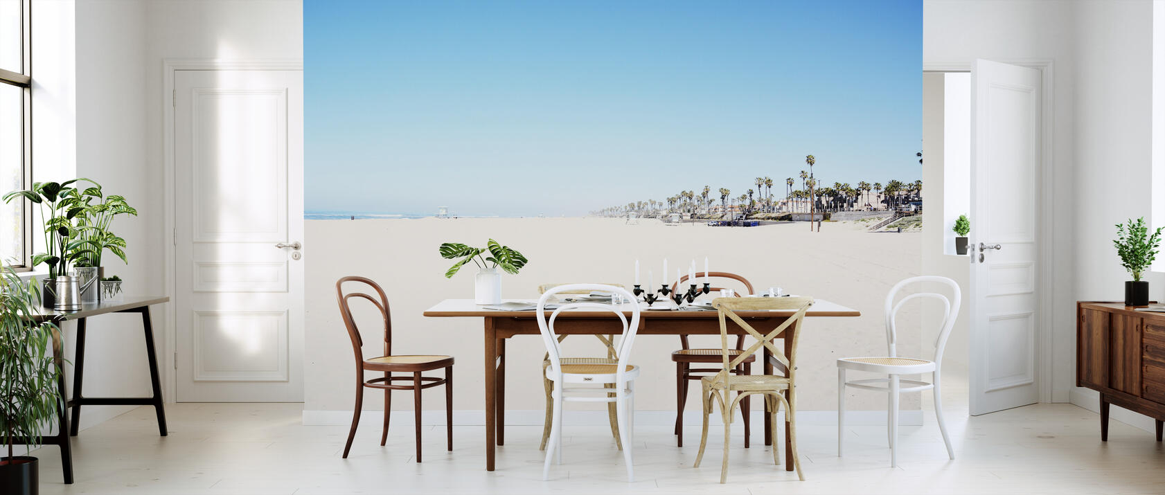 beach blvd preiswerte fototapete photowall. Black Bedroom Furniture Sets. Home Design Ideas