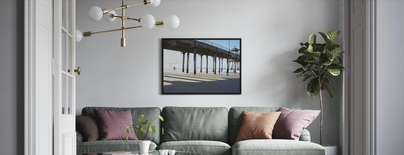 Surf City - Print enmarcado - Salón