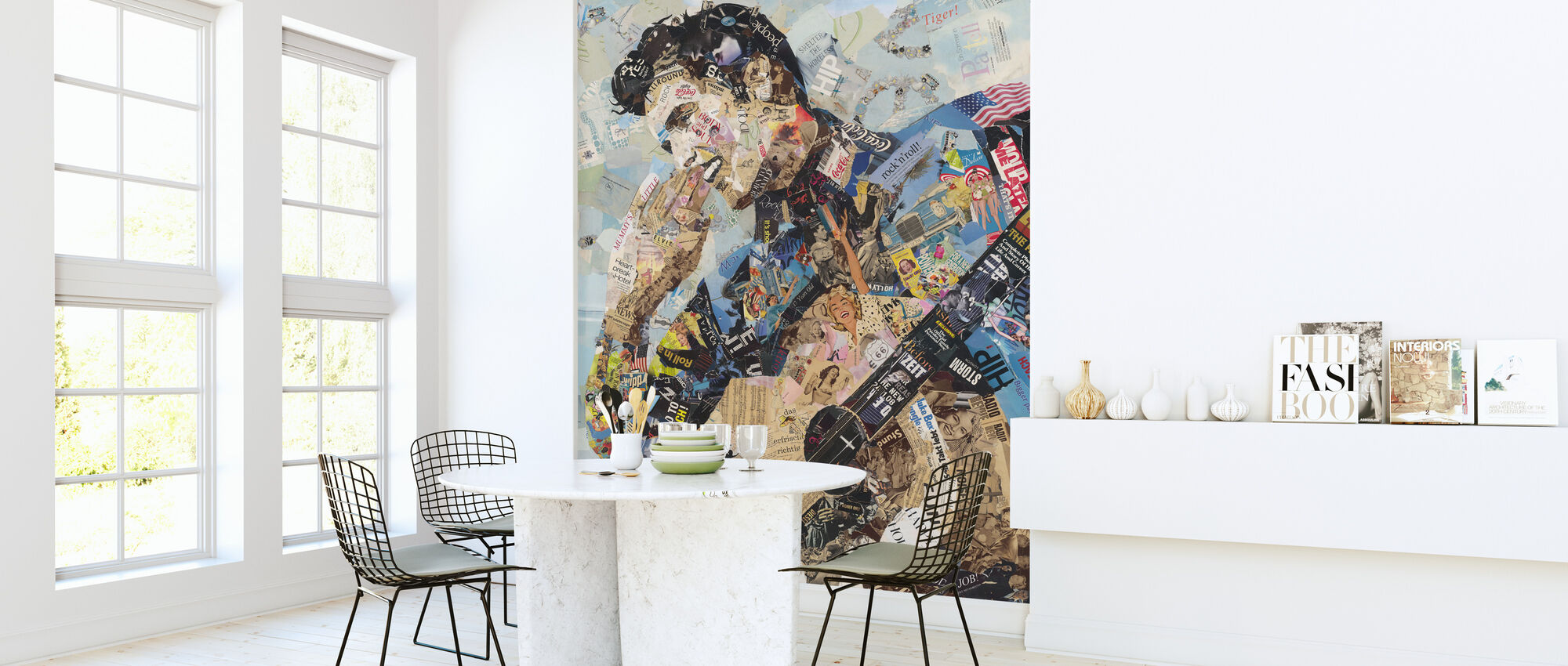 All Shook Up - Wallpaper - Kitchen