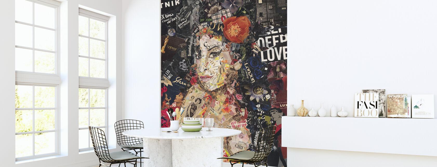 Back to Black - Wallpaper - Kitchen