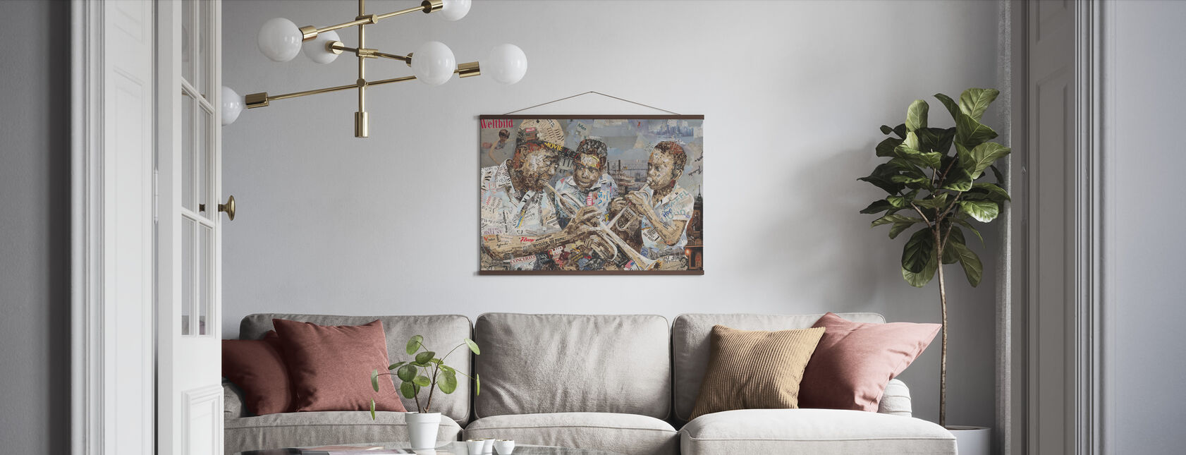 Blues Boys - Poster - Living Room
