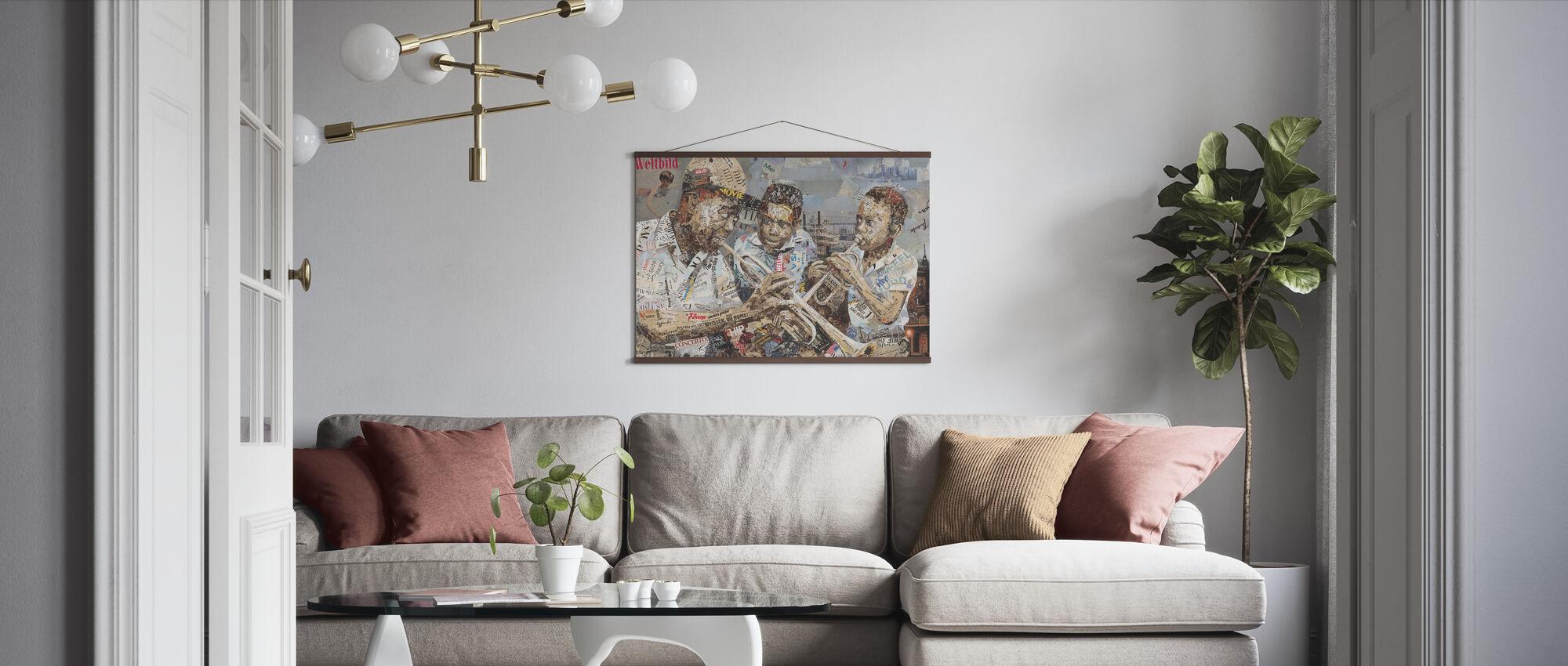 Blues Boys - Poster - Living Room