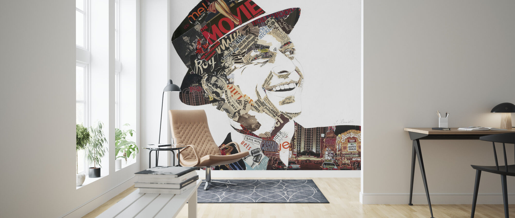 Franky - Wallpaper - Living Room