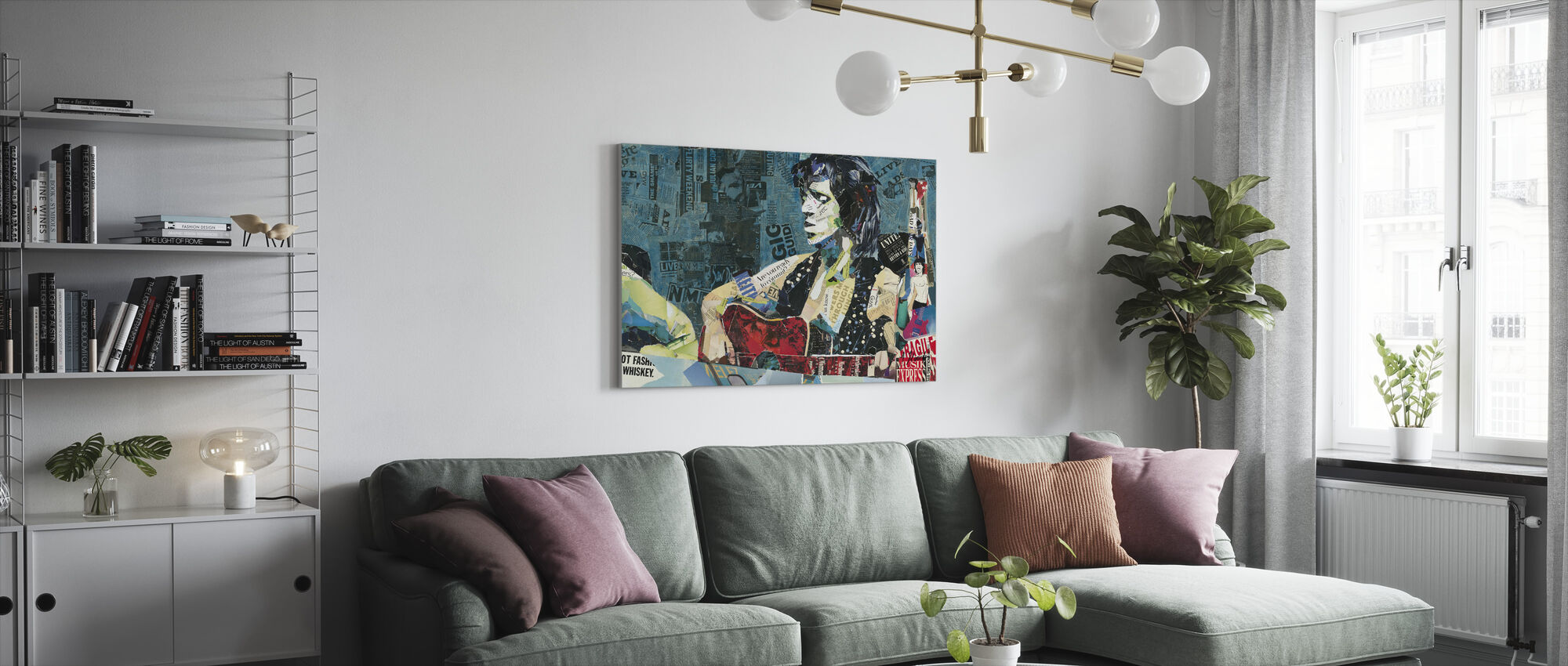"Doin ""Ons ding - Canvas print - Woonkamer"