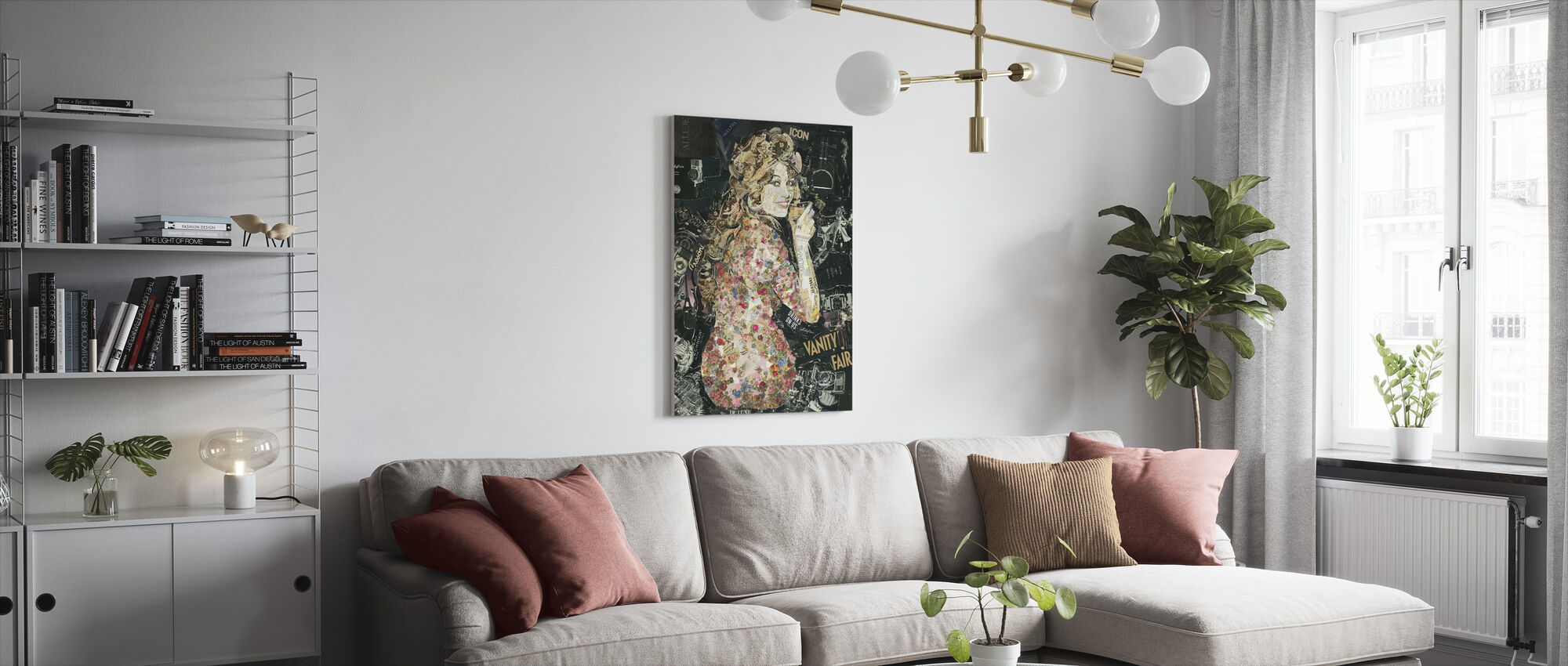 Everybody Loves My Baby - Canvas print - Living Room
