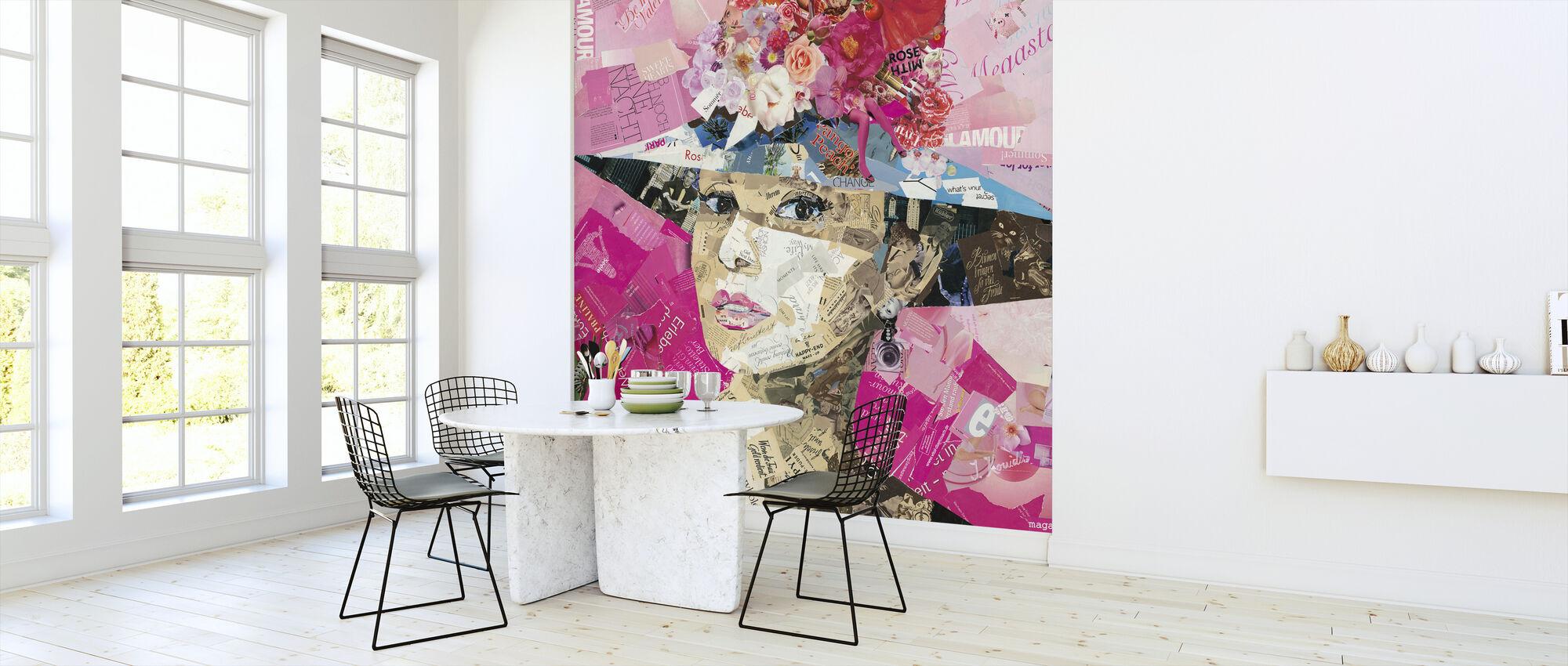 Girl Next Door - Wallpaper - Kitchen